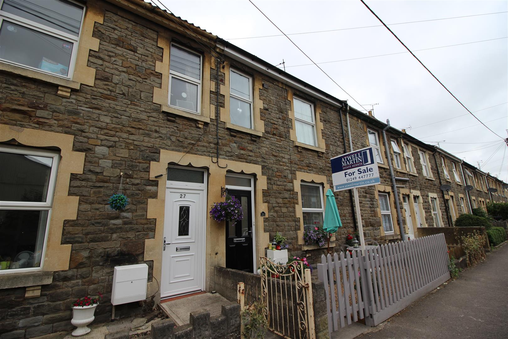 2 Bedrooms Terraced House for sale in Tugela Road, Chippenham